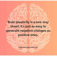 Your life shapes your #brain. #plasticity                                                                                                                                                     More