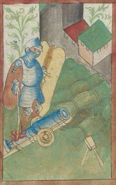 Kriegstechnik (Bilderhandschrift) Oberrhein · um 1420-1440 Ms. Rh. hist. 33b  Folio 81v