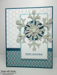 snowflake die,  MM79 by stampwithsandy - Cards and Paper Crafts at Splitcoaststampers