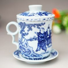 bone china cup with lids   Cup, Jingdezhen ceramic bone China Teacup with lid, creative Cup ...