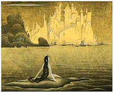 kay nielsen little mermaid - Google Search