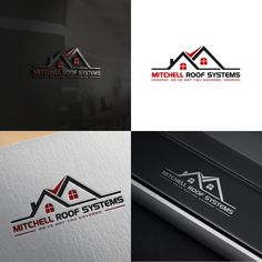 Roofing Company Logo - Roofing Company needs a head turning logo We need a logo designed for one of our new clients that is a residential and commercial roofing company. They repair . Roofing Logo, Roofing Felt, Custom Logo Design, Custom Logos, Commercial Roofing, Real Estate Logo, Roof Plan, Roofing Systems, Home Logo
