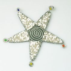 Check out these stunning African Beaded Christmas Ornaments at www.christmaswithaheart.com Beaded Christmas Ornaments, Christmas Decorations, Holiday Decor, African Christmas, African Crafts, African Beads, All Things Christmas, Stars, Check