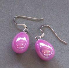 Ostara  Easter Eggs  Metallic Pink by bellbookndragon on Etsy, $7.00