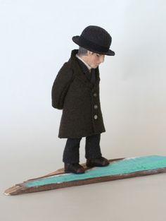 個展の人形・その11 - 羊毛倉庫の日々