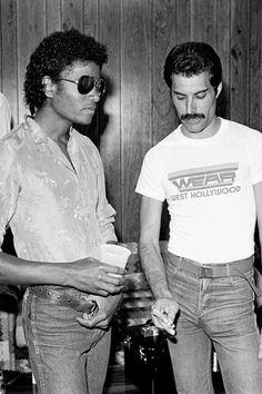 "Michael Jackson Freddie Mercury Digital Photo 12"" x 8"" RARE | eBay"
