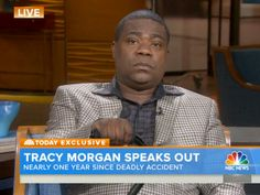 Tracy Morgan Fights Back Tears in First Interview Since Accident: 'The Loss of My Friend Will Never Heal' http://www.people.com/article/tracy-morgan-today-show-first-interview-fatal-accident
