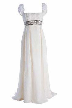 Novias: Estilo Imperio/ me encantaría un vestido así *0*