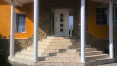 Unsere neue Naturstein Treppe