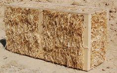 Bala-Box.  Prototipo de vivienda con balas de paja