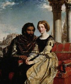 Othello and Desdemona