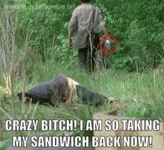 LOL meme funny Rick Grimes Walking Dead zombie