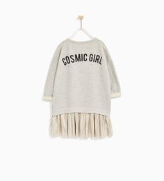 CONTRAST DRESS-View All-DRESSES AND JUMPSUITS-GIRL | 4-14 years-KIDS | ZARA United States