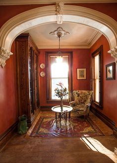 Second Empire Interior | Second Empire 26 Church Street Moravia, NY