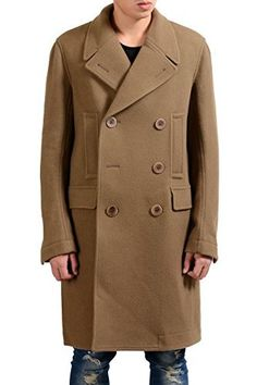 """Rick Owens Men's 100% Wool Brown Double Breasted Coat       Famous Words of Inspiration...""""The more you say, the less people remember.""""   Fran?ois F?nelon — Click here for more from Fran?ois...  More details at https://jackets-lovers.bestselleroutlets.com/mens-jackets-coats/wool-blends-mens-jackets-coats/product-review-for-rick-owens-mens-100-wool-brown-double-breasted-coat-us-l-it-52/"""