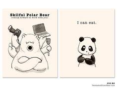 » Job Ad for Panda and Polar Bear