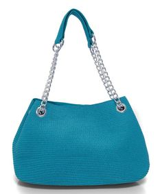 Another great find on #zulily! Turquoise Chain Shoulder Bag by Magid #zulilyfinds