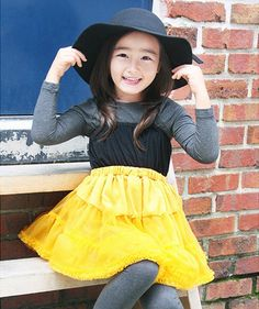 JU'S GIRLS DRESSES - I'm not as keen on the yellow, but I know Ju has lots of different colours.