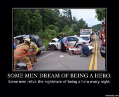 EMS and Firefighter PTSD is very real.