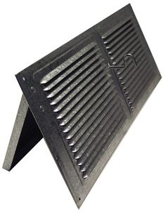 Norwesco 558026 Galvanized Soffit Vents with Damper, 16-Inch by 6-Inch ** You can find out more details at the link of the image.