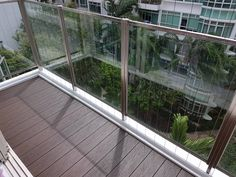 evoDECK makes a fantastic surface for barefoot. The minimal gap on the deck goes beyond aesthetic purposes – it also allows water to flow through so standing water will not collect on the surface. Outdoor Decking, Balcony Design, Barefoot, Teak, Singapore, Minimalism, Flow, Condo, Eco Friendly