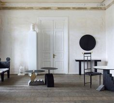 Interior by Tbilisi-based design label Rooms.   #interiordesign #interiors #interior #interiores #interiordesignideas #interiorinspiration #interiorinspo #instadecor #instadesign #interiordesign #interiordesigner #design #homedecor #midcenturymodern #midcentury #midcenturyfurniture #artgallery #mood #elledecor #architecturaldigest #vogueliving #minimalist #art  #chic  #artgram #stylist #vintagefurniture