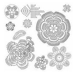 Irish Lace Crochet Technique : Step by Step Tutorial