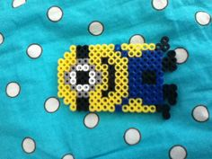 Minion - Perler Beads