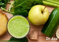 4 Celery Stalks 1/2 Cucumber 1 cup Pineapple 1/2 Green Apple 1 cup Spinach 1 Lemon 1 knob Ginger