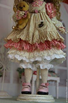 Коллекционные куклы ручной работы. Фрося . Кукла авторская текстильная . Кукла ручной работы .. Кукольные нежности от Ариши. Ярмарка Мастеров.