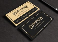 Vintage Business Card by Macrochromatic on Creative Market