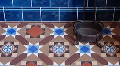 period tiles from criterion tiles - the floor tiles are very like the ones we have in our porch.