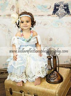 Princess & Frog Boutique Dress Baby Dream Backdrops Studio Session