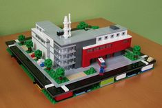 LEGO micropolis: fire station 1 | by xtitus