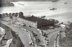 All of this area (tram depot) on Bennelong Point became the Sydney Opera House & forecourts. Sydney City, Sydney Harbour Bridge, Sydney Australia, Western Australia, Old Pictures, Old Photos, The Rocks Sydney, Aboriginal History, Historical Images