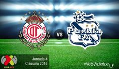 Toluca vs Puebla, Jornada 4 del Clausura 2016 ¡En vivo por internet! - https://webadictos.com/2016/01/31/toluca-vs-puebla-clausura-2016/?utm_source=PN&utm_medium=Pinterest&utm_campaign=PN%2Bposts