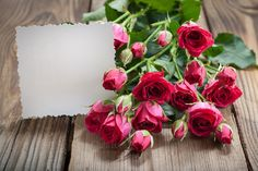 Photo about White card and pink roses on a wooden background. Image of petals, decoration, card - 31490080 Rose Flower Wallpaper, Flower Background Wallpaper, Flower Backgrounds, Iphone Backgrounds, Wooden Background, Wallpaper Backgrounds, Desktop Wallpaper Black, Glitter Wallpaper, Desktop Wallpapers
