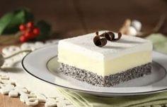 Ledene mak kocke ~ Recepti i Ideje Diet Desserts, Cookie Desserts, Easy Desserts, Croatian Cuisine, Croatian Recipes, Sweet Recipes, Cake Recipes, Dessert Recipes, Cake Cookies