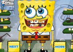Juegos Dentistas.com - Juego: Spongebob Squarepants - Jugar Juegos Gratis Online