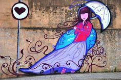 grafite arte urbana amor - Pesquisa Google