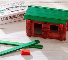 Lincoln Logs #pbkids