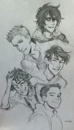 The boys #HeroesofOlympus