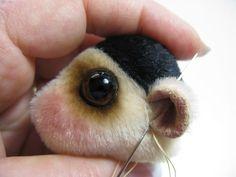 Teddy Bears Tutorials: Sewing cauliflower ears