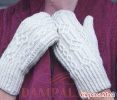 Варежки Sydnmaa вяжутся с индийским клином большого пальца, это очень простой способ, который обеспечивает плотное прилегание рукавицы к ладони.