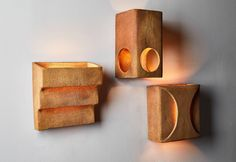 ceramic wall lights attributed to Guy Bareff. Designed in France circa - Hobbies paining body for kids and adult Ceramic Wall Lights, Ceramic Light, Ceramic Wall Art, Ceramic Lamps, Ceramic Candle Holders, Wall Candle Holders, Pottery Gifts, Pottery Teapots, Wall Accessories