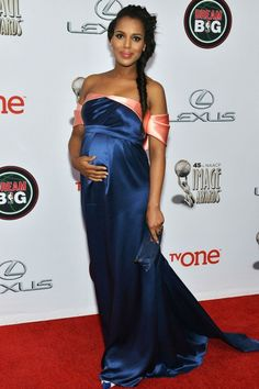 Kerry Washington pregnant maternity fashion