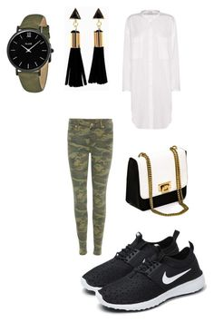 """""""Untitled #801"""" by ednatchiwana ❤ liked on Polyvore featuring Acne Studios, True Religion, NIKE and CLUSE"""