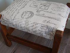 Arts & Crafts Oak stool