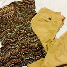 Silky cargo pants and colorful stretchy blouse ✨✨ ✨cute outfit on sale!! Pants