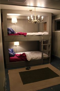 now that's a bunk bed